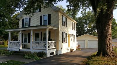 Fort Edward Single Family Home For Sale: 8 Factory Street