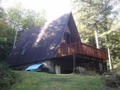 Schroon Single Family Home Contingent Contract: 882 Adirondack Road