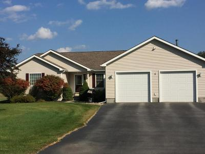 Lake Luzerne Single Family Home Contingent Contract: 8 Lady Slipper Lane