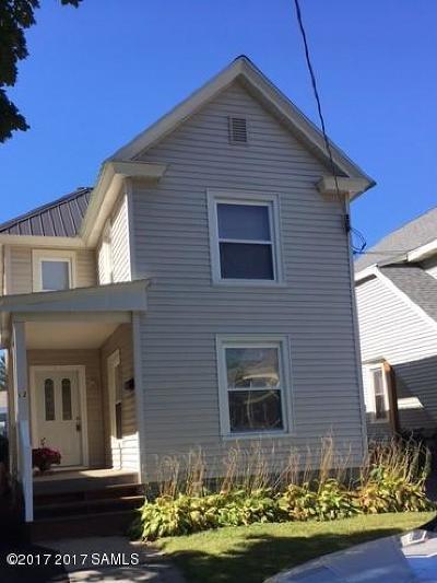 Glens Falls Single Family Home For Sale: 12 Cortland