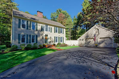 Queensbury Single Family Home Contingent Contract: 7 Honey Hollow