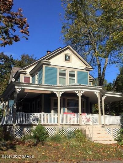 Lake George Single Family Home For Sale: 110 Schuyler Street