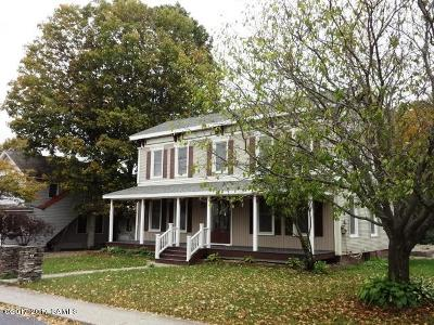 Hartford Single Family Home For Sale: 45 Hartford Main St ( Cty Rt 23)