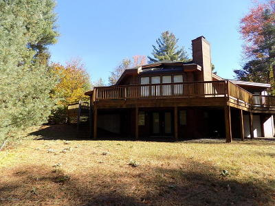 Lake Luzerne Single Family Home Contingent Contract: 38 Schaeffer Brook Lane