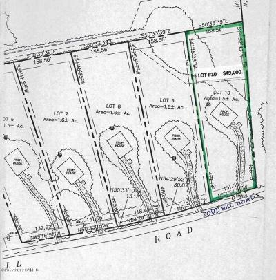 Residential Lots & Land For Sale: 00 Dodd Hill Road