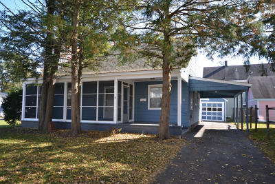 Glens Falls Single Family Home Contingent Contract: 16 Harrison Avenue