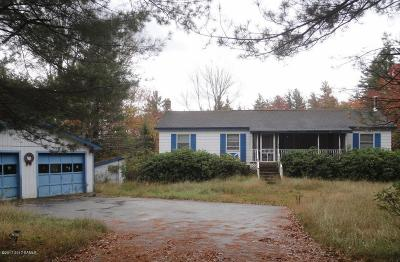 Schroon Single Family Home Contingent Contract: 888 Charley Hill Road
