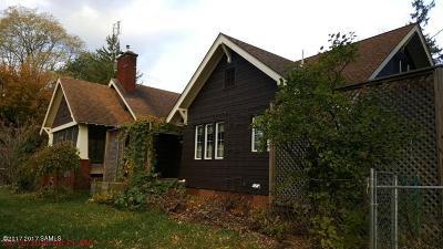 Glens Falls Single Family Home For Sale: 183 Ridge Street