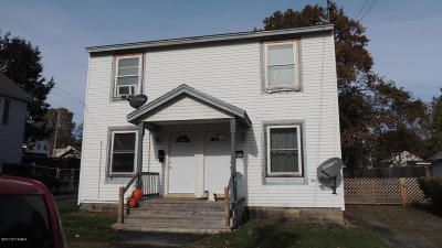 Fort Edward Multi Family Home For Sale: 94 McCrea Street