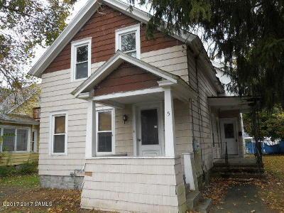 Glens Falls Single Family Home For Sale: 5 Stevens Street