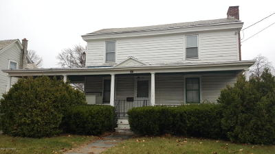 South Glens Falls Vlg NY Single Family Home For Sale: $114,900
