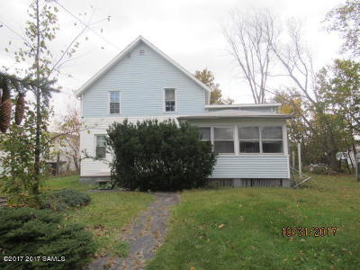 Ticonderoga Single Family Home For Sale: 5 George Street