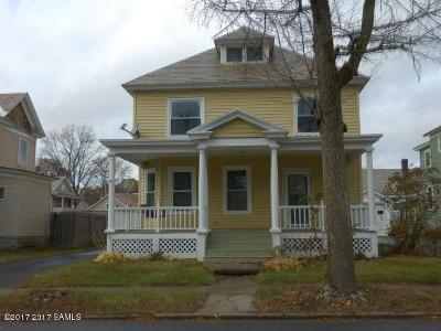 Glens Falls Single Family Home For Sale: 86 Sanford St