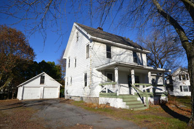 Glens Falls Single Family Home Contingent Contract: 145 Sherman Avenue