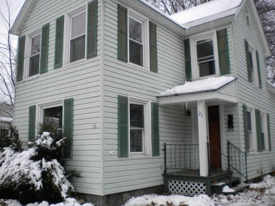 Glens Falls Single Family Home For Sale: 25 Third Street