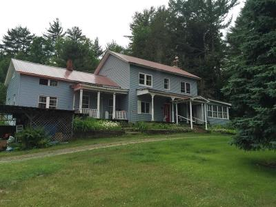 Johnsburg Single Family Home For Sale: 2021 State Route 28