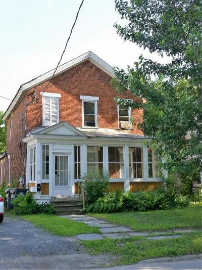 Fort Edward Multi Family Home For Sale: 92 East Street