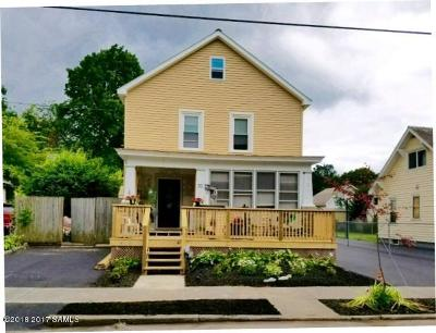 Glens Falls Single Family Home For Sale: 30 Stewart Ave