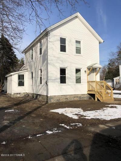 Glens Falls Single Family Home For Sale: 41 1st