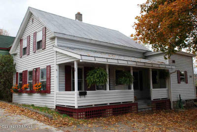 Warrensburg Single Family Home Contingent Contract: 5 Ridge Avenue