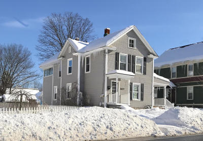 Glens Falls Multi Family Home Contingent Contract: 207 Bay Street #2