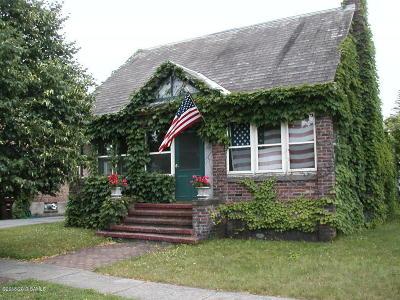 Glens Falls Single Family Home For Sale: 121 Hunter Street