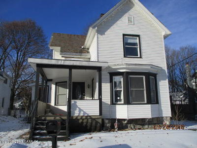 Hudson Falls Vlg Single Family Home For Sale: 5 School Street