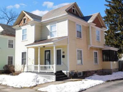 Glens Falls Single Family Home For Sale: 15 Elizabeth St