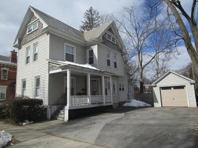 Glens Falls Multi Family Home Contingent Contract: 7 W Notre Dame Street