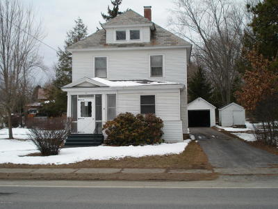 Fort Edward NY Single Family Home For Sale: $114,999