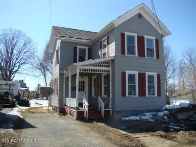 South Glens Falls Vlg NY Single Family Home For Sale: $67,900
