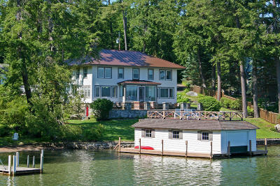 Lake George NY Single Family Home For Sale: $1,890,000