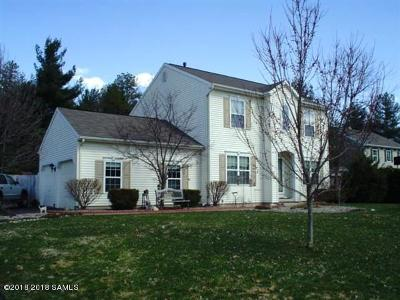 Moreau Single Family Home Contingent Contract: 33 Pine Valley Drive