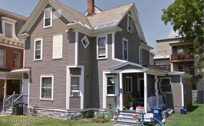 Glens Falls Multi Family Home For Sale: 8 E Notre Dame Street