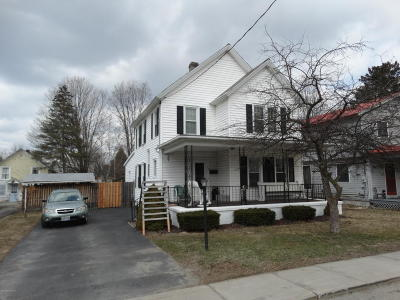 Warrensburg Single Family Home Contingent Contract: 13 Third Avenue