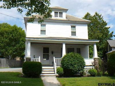 South Glens Falls Vlg NY Single Family Home For Sale: $154,000