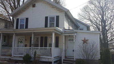 Glens Falls Multi Family Home Contingent Contract: 11 McDonald Street