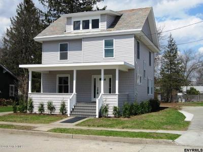 Glens Falls Single Family Home For Sale: 29 5th Street