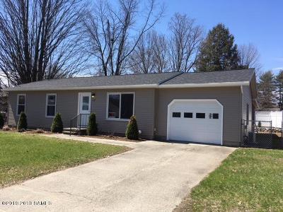 Glens Falls Single Family Home For Sale: 53 Staple Street