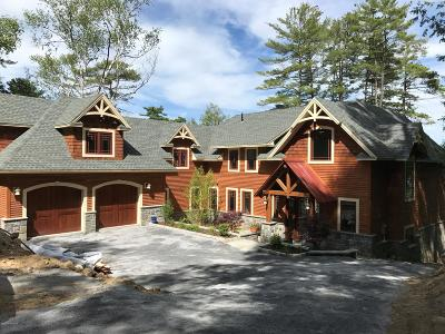 Lake George NY Single Family Home For Sale: $3,440,000