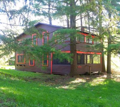 Ticonderoga Single Family Home Contingent Contract: 89 Tiroga Beach Lane Lane
