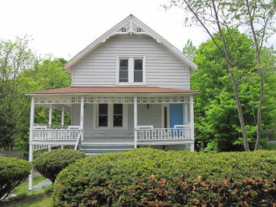 Lake Luzerne Single Family Home Contingent Contract: 315 Lake Avenue