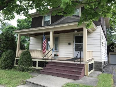 Hudson Falls Vlg Single Family Home Contingent Contract: 17 North Oak Street
