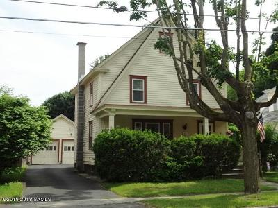 Hudson Falls Vlg Single Family Home For Sale: 10 Beech Street