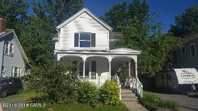 Hudson Falls Vlg Single Family Home For Sale: 34 School Street