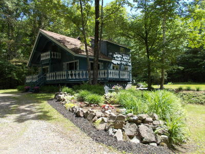 Lake George Single Family Home Contingent Contract: 58 French Mountain Drive