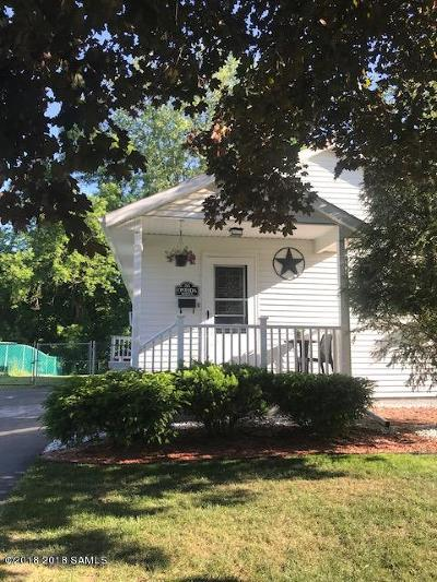 Glens Falls Single Family Home Contingent Contract: 25 Oneida St6reet