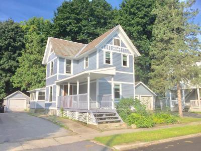 Glens Falls Single Family Home Contingent Contract: 8 Davis Street