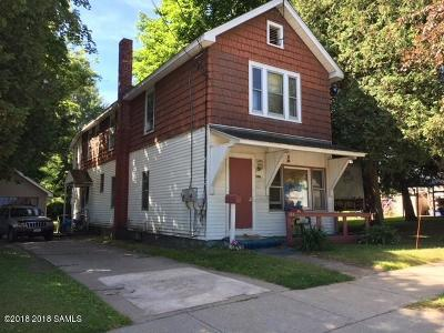 Corinth NY Multi Family Home For Sale: $99,000
