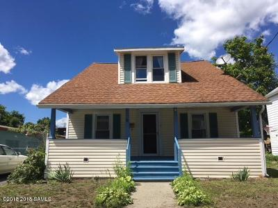 Glens Falls Single Family Home Contingent Contract: 9 Dudley Street